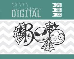 Check out our nightmare before christmas svg bundle selection for the very best in unique or custom, handmade pieces from our digital shops. Svg Jack And Sally Boo Nightmare Before Christmas Etsy