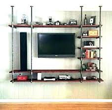 mounted entertainment center wall media wall mount entertainment center shelves mounted