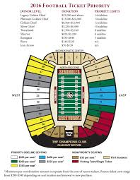 Doak Campbell Seating Chart