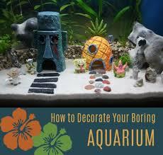 diy aquarium ideas decorate boring fish tank cool and easy decorations for tank aquariums