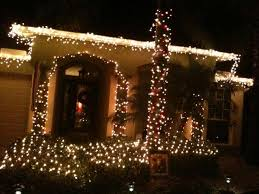 xmas lighting ideas. Simple Outside Christmas Decorations Xmas Lights Outdoor Lighting Ideas Modern
