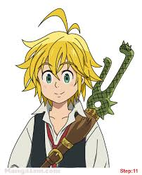 Captain meliodas 'the seven deadly sins' is a ssr demon character that has the vitality attribute. How To Draw Meliodas From Nantsu No Taizai Welcome Seven Deadly Sins Anime Anime Character Drawing Seven Deadly Sins