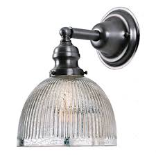 jvi designs union square metal one light wall sconce with mercury glass
