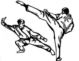 important karate coloring pages book and free coloringes for kids to printe