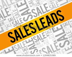 Sales Leads Word Cloud Collage Business Stock Vector Royalty Free