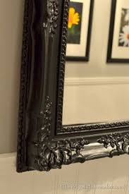 diy painted mirror frame. How To Spray Paint A Mirror Frame Diy Painted +