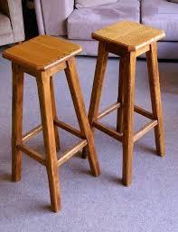 oak bar stools solid oak bar stools pair wooden kitchen bar stools nz