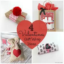 4 Valentines Gift Wrap Ideas