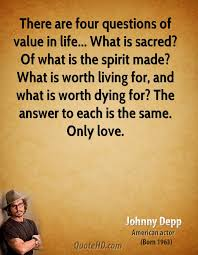 Johnny Depp Love Quotes Beauteous Johnny Depp Love Quotes QuoteHD