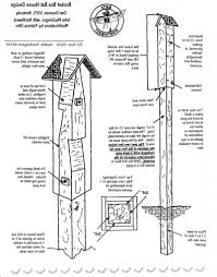 wood duck house plans free with awesome build bat house plans s best information