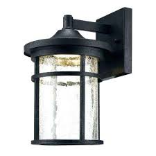 redodot outdoor lighting aged iron led wall lantern with le glass red dot landscape parts