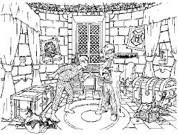 Small Picture Harry Potter Coloring Pages