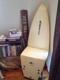surfboard furniture. snapped surfboard chair furniture a