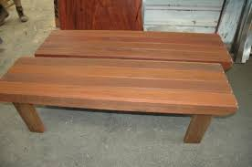 wooden outdoor benches for