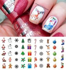 Christmas Nail Decals Set #1 – Moon Sugar Decals