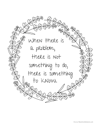 Quote Coloring Pages For Everyone Who Just Cant Get Enough