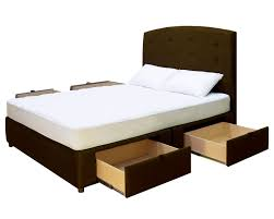 Beds With Drawers Bedroom The Most Elegant Wooden Bed With Drawers