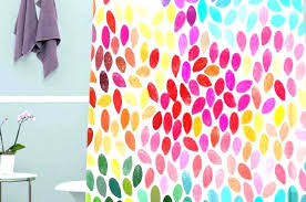 colorful fabric shower curtains popular colorful cartoon owl waterproof fabric shower curtain designs