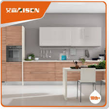 Veneer Center Panel Modern Kitchen Cabinets Design Stick On ...