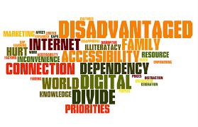 the digital divide words
