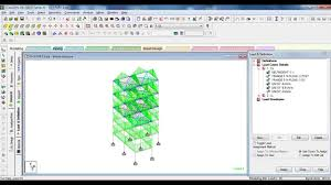 Design Of G 3 Rcc Building Staad Pro Analysis Design Of G 3 Building Part 3 Assigning Loads To The Structure Analysis