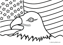 Coloring Pages Of The American Flag Flag Landscape Coloring Pages