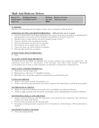 Fantastic Pizza Delivery Driver Resume Template Photos