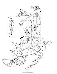 Troy bilt 13aqa2kw011 super bronco 54 2015 parts diagram mower