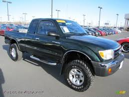 2000 Toyota Tacoma V6 SR5 Extended Cab 4x4 in Imperial Jade Green ...