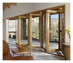 impressive on folding gl patio doors