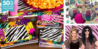 80s party decorations with 1980s birthday party ideas with 18th party decorations with party city 80s