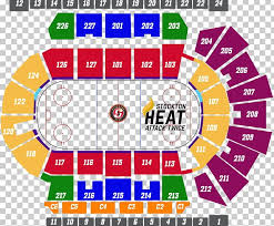 Stockton Arena Seating Chart Stockton Arena Stockton Heat Hershey Bears Giant Center