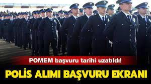 8 bin polis alımı başvuru nereden yapılır? 27. dönem POMEM son başvuru  tarihi ne zaman?