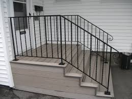Wrought Iron Handrails Metal Handrails For Deck Stairs Railings Porch Railings Outdoor