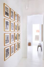 same size of frames with black and white shots