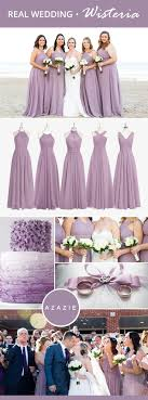 Mixing-and-matching your bridesmaids is easy! Azazie offers 50+ colors to