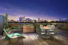 Balcony Kitchen Garden Inspired Developer Takes Balconies Well Beyond Container Gardening