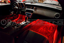 most ambient lighting today reflects a light source off interior surfaces and is designed to help the driver see when he or she enters or exits the vehicle car mood lighting