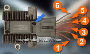 1994 ford f150 ignition coil wiring diagram 1994 part 2 how to test the ford ignition control module fender mounted on 1994 ford f150