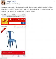 fantastic furniture dining chairs. in a post to facebook, ms gross brought awareness the issue of her 11 fantastic furniture dining chairs