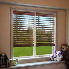 wooden window blinds. Cordless Faux Wood Blind Wooden Window Blinds U