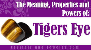 the meaning of tigers eye