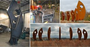 Cor ten steel Atmospheric Corrosion Corten Metal Structure Metalco Corten Metal Structure Horner Fan And Fabrication
