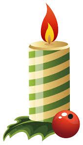 Green Christmas Candle PNG Clipart Image | Gallery Yopriceville ...