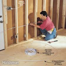how to rough in electrical wiring the family handyman how to rough in electrical wiring
