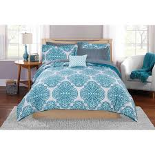 mainstays painted leaf bed in a bag coordinating bedding set com