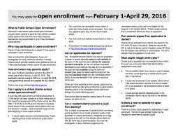 open enrollment feb 1 29 news school district of west open enrollment feb 1 29