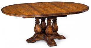 colonial oak oval extending dining table room ideas