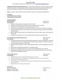 Valuable Mental Health Case Manager Resume Sample Collection Of