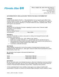 Florida Blue Access Authorization Unit - Fill Online, Printable ...